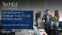 Internet Explorer 11 Developer Tools, F12, Just Got Nicer (Again)