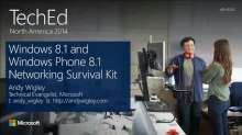 Windows 8.1 and Windows Phone 8 Store Apps Networking Survival Kit