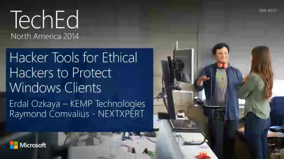 Hacker Tools for Ethical Hackers to Protect Windows Clients