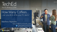 2014 Edition: How Many Coffees Can You Drink While Your PC Starts?