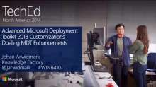 Advanced Microsoft Deployment Toolkit 2013 Customizations: Dueling MDT Enhancements