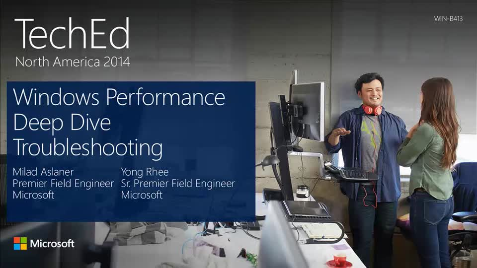 Windows Performance Deep Dive Troubleshooting