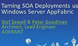 Taming SOA Deployments using Windows Server AppFabric [NZ 2010: DEV306]