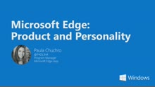 Microsoft Edge: Product And Personality
