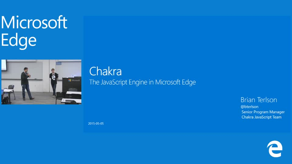 Chakra: The JavaScript Engine that powers Microsoft Edge