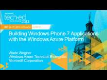 Building Windows Phone Applications with the Windows Azure Platform