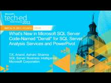"What's New in Microsoft SQL Server Code-Named ""Denali"" for SQL Server Analysis Services and PowerPivot"