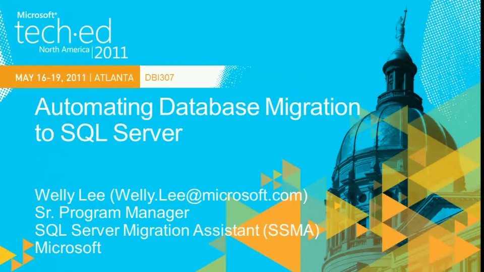Automating Database Migration to Microsoft SQL Server