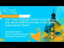 "The T-SQL Cookbook: What's Cool in Microsoft SQL Server 2008 R2 and New in SQL Server Code-Named ""Denali"""