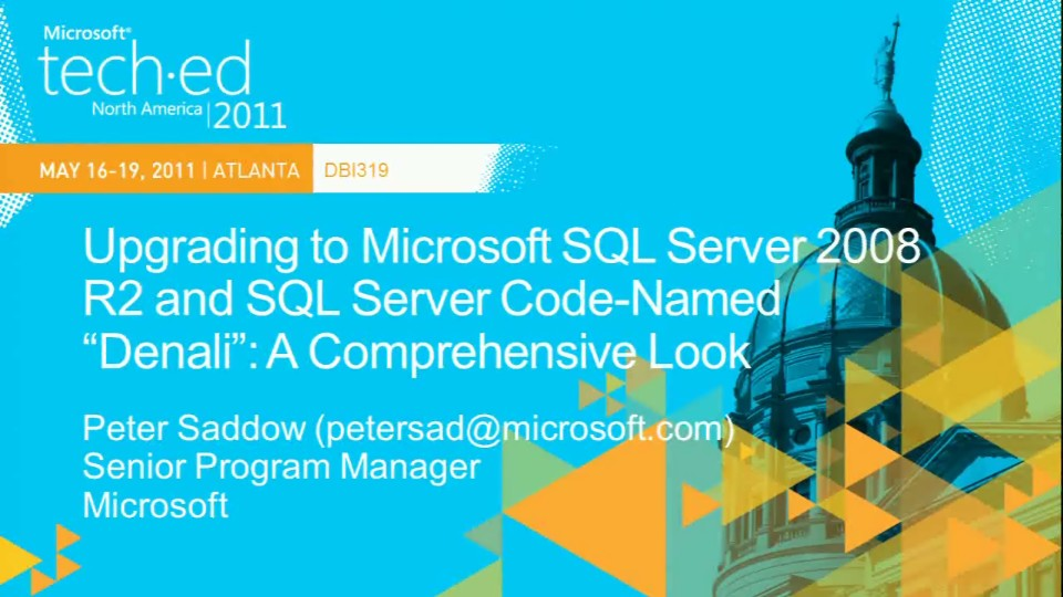 "Upgrading to Microsoft SQL Server 2008 R2 and SQL Server Code-Named ""Denali"": A Comprehensive Look"