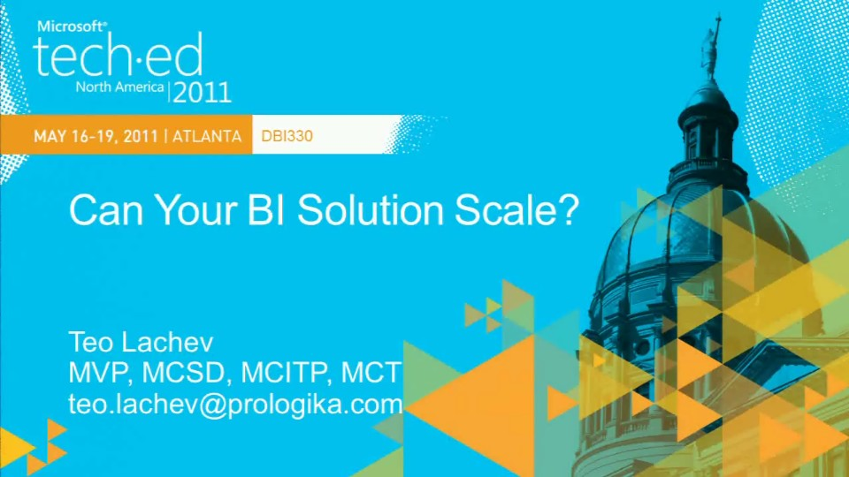 Can Your BI Solution Scale?