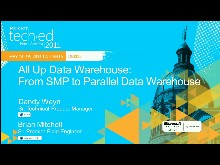 All Up Data Warehouse: From SMP to Parallel Data Warehouse
