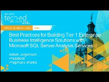 Best Practices for Building Tier 1 Enterprise Business Intelligence Solutions with Microsoft SQL Server Analysis Services