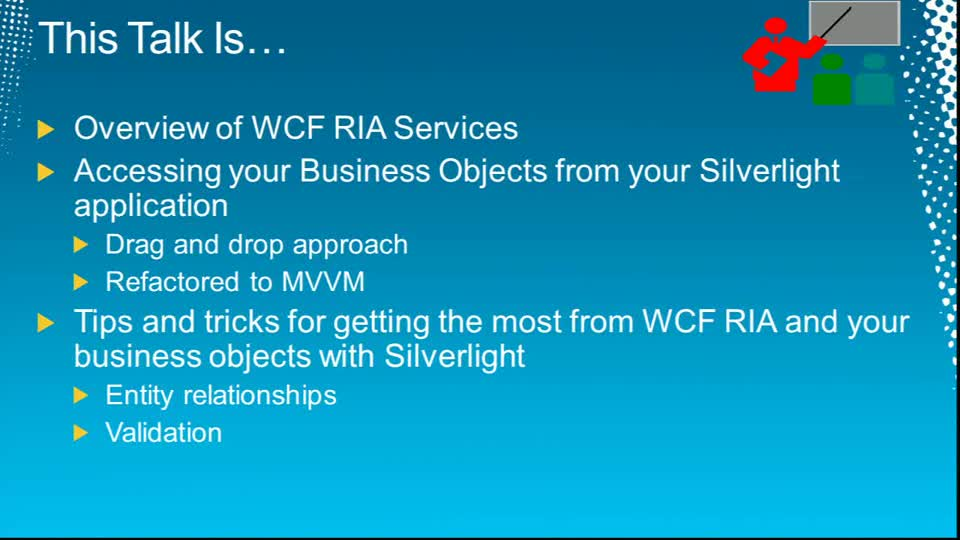 Microsoft Silverlight,WCF RIA Services and Your Business Objects