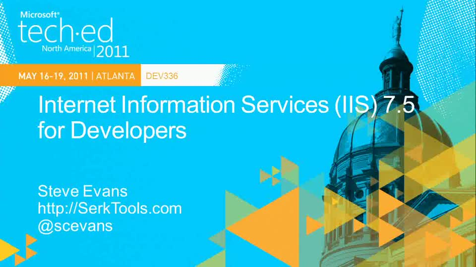 Internet Information Services (IIS) 7.5 for Developers