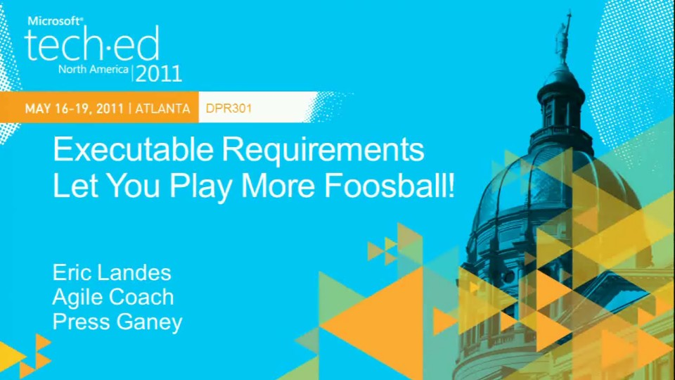 Executable Requirements Let You Play More Foosball!