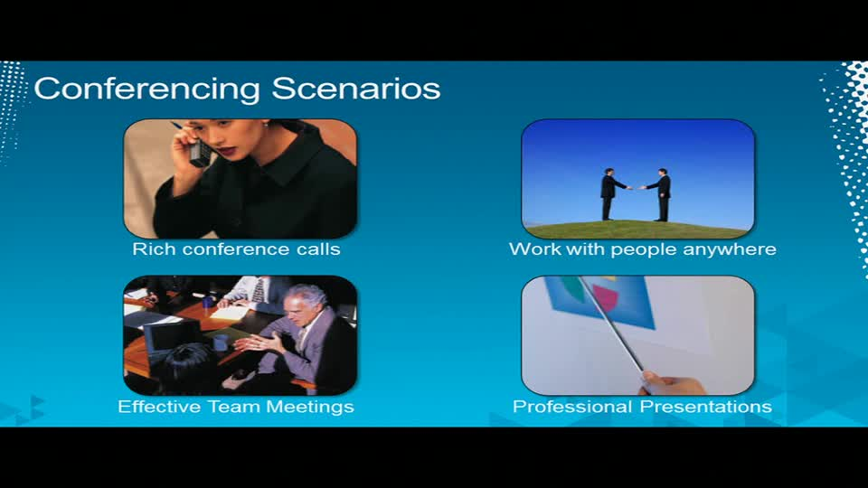 Microsoft Lync 2010: Audio, Video and Web Conferencing Architecture and Experience