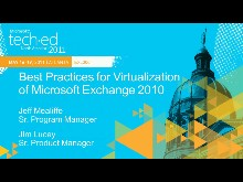 Best Practices for Virtualization of Microsoft Exchange 2010
