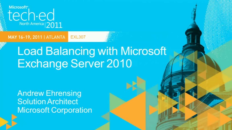 Load Balancing with Microsoft Exchange Server 2010