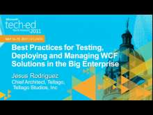 Best Practices for Testing,Deploying and Managing WCF Solutions