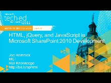 HTML,jQuery,and JavaScript in Microsoft SharePoint 2010 Development