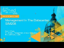 Management in the Datacenter