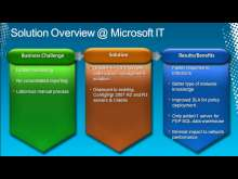 Client Management and Protection at Microsoft: Real-World Deployment Case Study of Microsoft Forefront Endpoint Protection