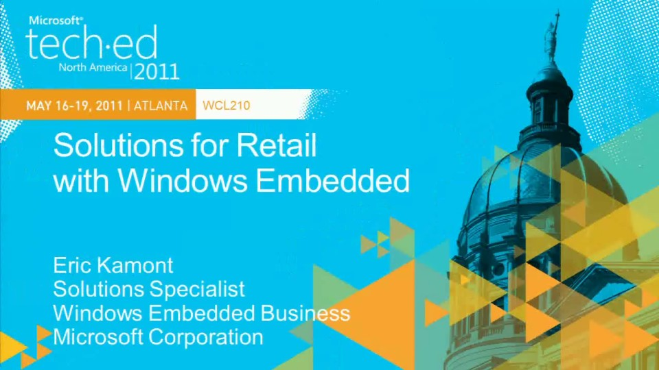 Solutions for Retail with Windows Embedded