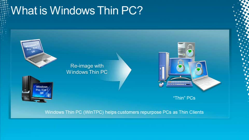 Reduce VDI Costs with Windows Thin PC