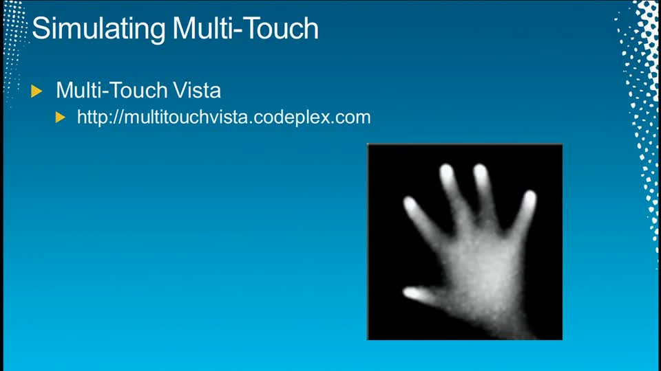 Touch Me,Stretch Me,Squeeze Me: The Windows 7 WPF Multi-Touch Story