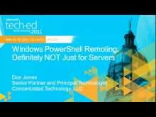 Windows PowerShell Remoting: Definitely NOT Just for Servers