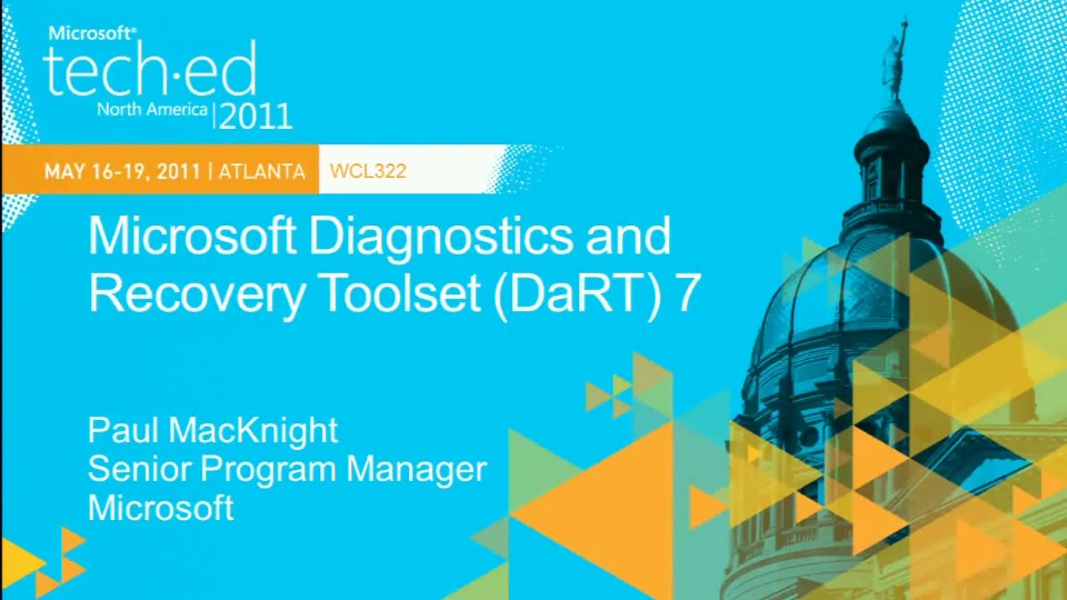 Microsoft Diagnostics and Recovery Toolset (DaRT) 7