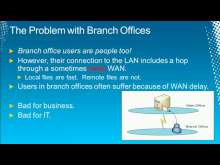 Inexpensively Speed Up Branch Office Access and Reduce Wasted Time by Implementing BranchCache