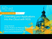 Extending Your Applications into the Cloud with Microsoft Remote Desktop Services