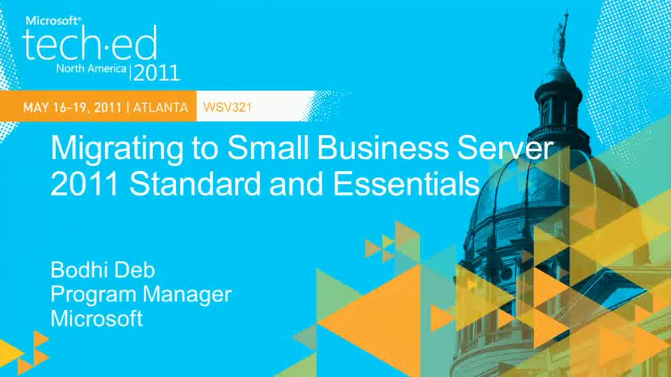 Migrating to Windows Small Business Server 2011 Standard and Essentials